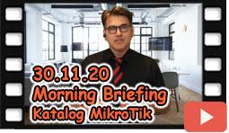 MikroTik kaufen und Katalog Morning Briefing